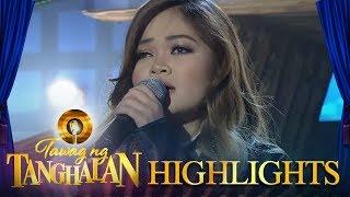 Tawag ng Tanghalan Janine Berdin performs her own rendition of &#39Sa Ngalan Ng Pag ibig&# ...