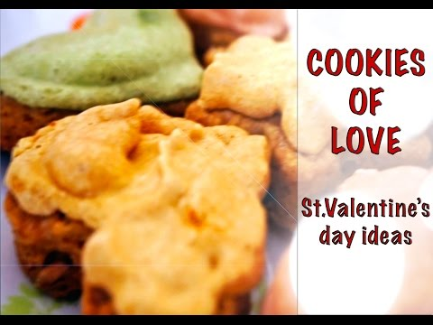 Cookies of Love for St. Valentine's Day / Simple cooking with Julia Ride