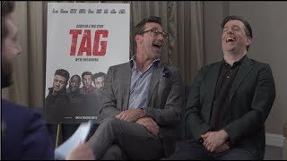 TAG interviews - Jon Hamm, Ed Helms, Jake Johnson, Hannibal Buress
