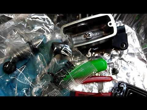 10 minute Motorcyle Clutch master cylinder rebuild ST1100 VF500 INTERCEPTOR MAGNA