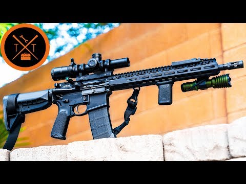 Navy SEAL AR-15 Setup is Finally Finished....