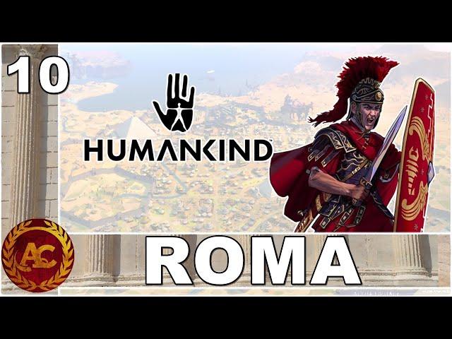 LA GUERRA ROMANO PERSIANA || HUMANKIND || GAMEPLAY ITA #10 (opendev Victor)