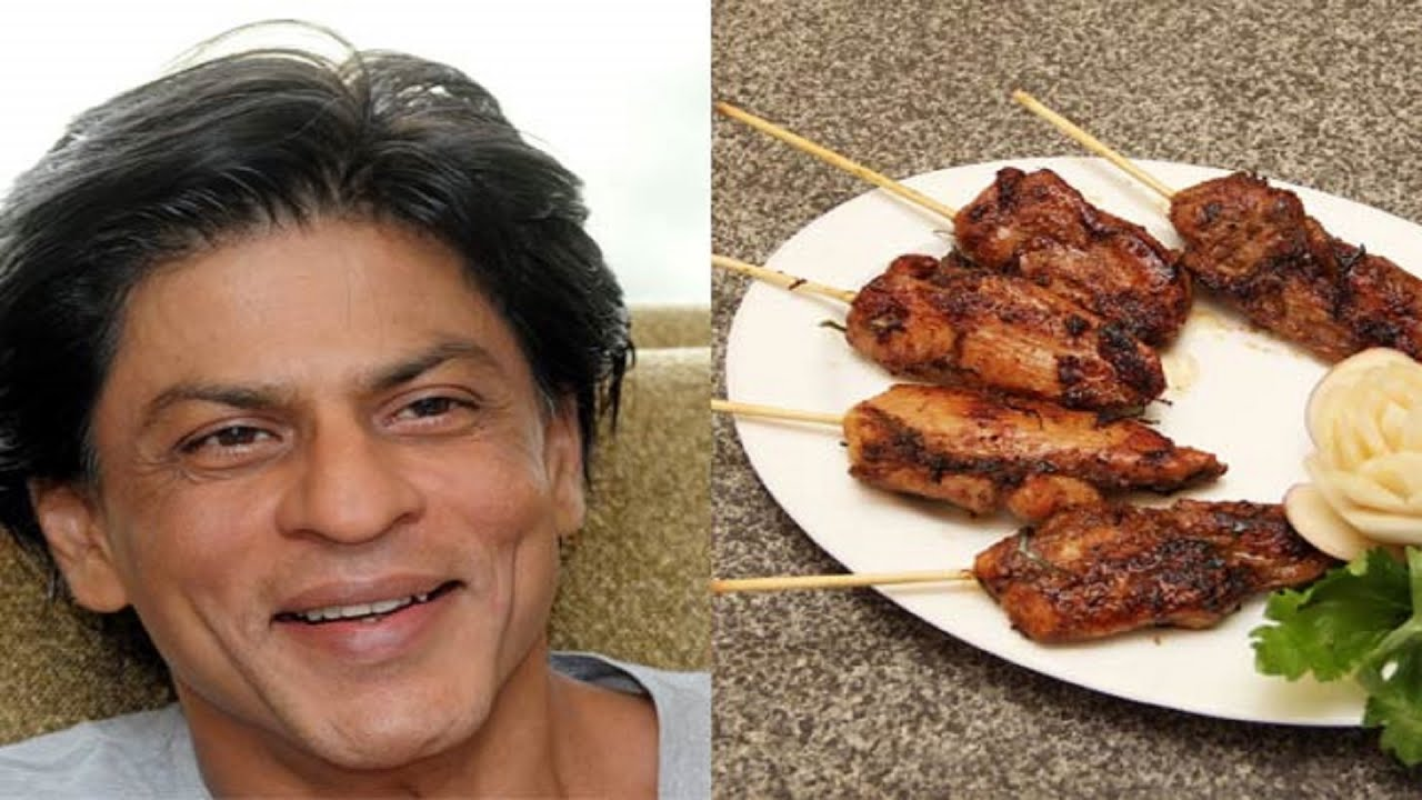 Shah Rukh Khan Loves to Eat Chicken - YouTube