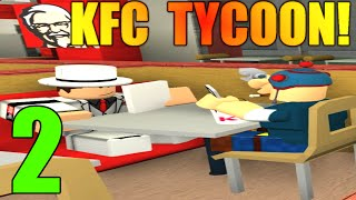 [ROBLOX: KFC Tycoon] - Lets Play Ep 2 - DANTDM LIKES KFC