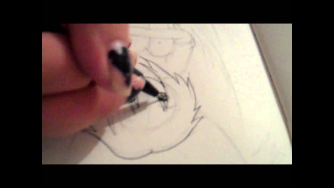 Lets Draw Sad Angel