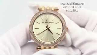 Обзор. Женские наручные часы Michael Kors MK3191