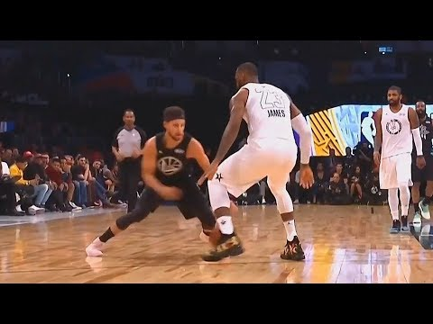 Stephen Curry Shows LeBron James He Can't Be Guarded! Team LeBron vs Team Curry 2018 All-Star Game