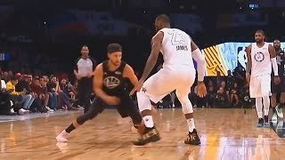 Stephen Curry Embarrasses LeBron James with Crossover & Shows Him He Can