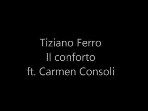 Tiziano Ferro- Il conforto ft. Carmen Consoli testo