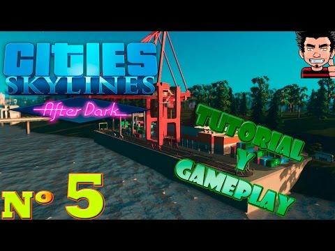 Cities Skyline After Dark gameplay español expansión La ciudad crece sin control!
