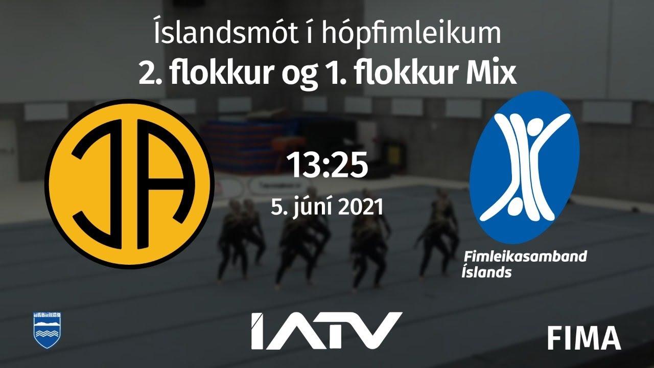 Download Íslandsmót í hópfimleikum (2. flokkur og 1. flokkur Mix)