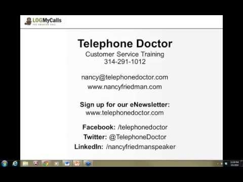 Telephone Doctor: Check Your Attitude  7 Traits to Make You Successful