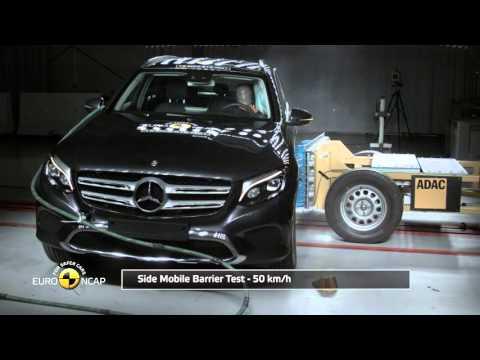 Euro NCAP Crash Test Of Mercedes Benz GLC 2015