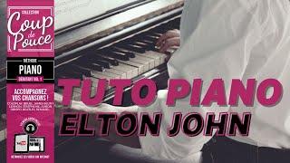 Cours de piano - Elton John - Song for guy
