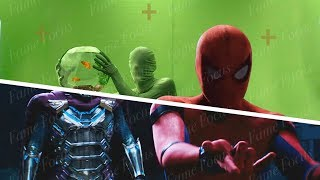 Spider-Man Far From Home - VFX Breakdown [The Illusion Battle]