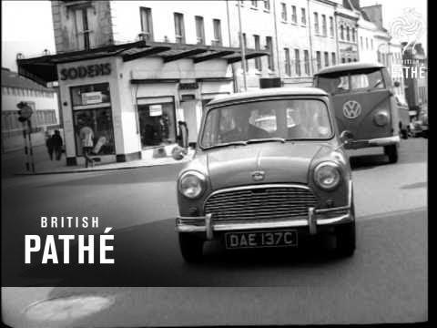 Electric Car Demonstration At Bristol 1966