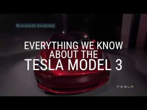 What we know about the Tesla Model 3