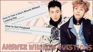 "MONSTA X | ANSWER WIKIHOW QUESTIONS | A ""CRACK"""