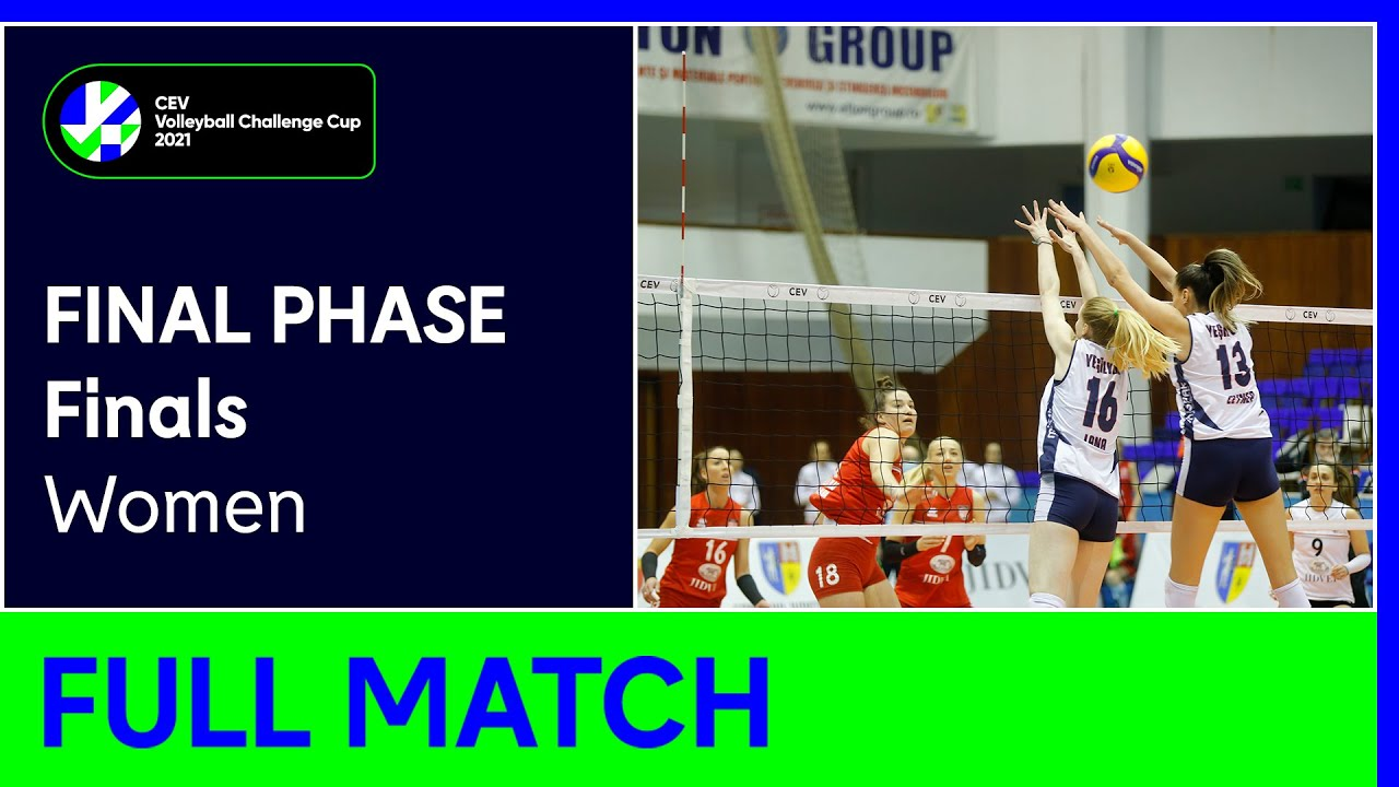 Sistem9 Yesilyurt ISTANBUL vs. C.S.M. Volei Alba BLAJ - CEV Volleyball Challenge Cup 2021 Women F