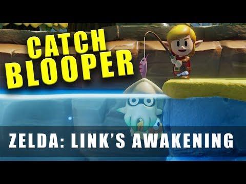 The Legend Of Zelda Link's Awakening Switch How To Catch Blooper