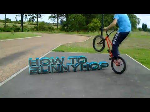 How To Bunny Hop On A bmx