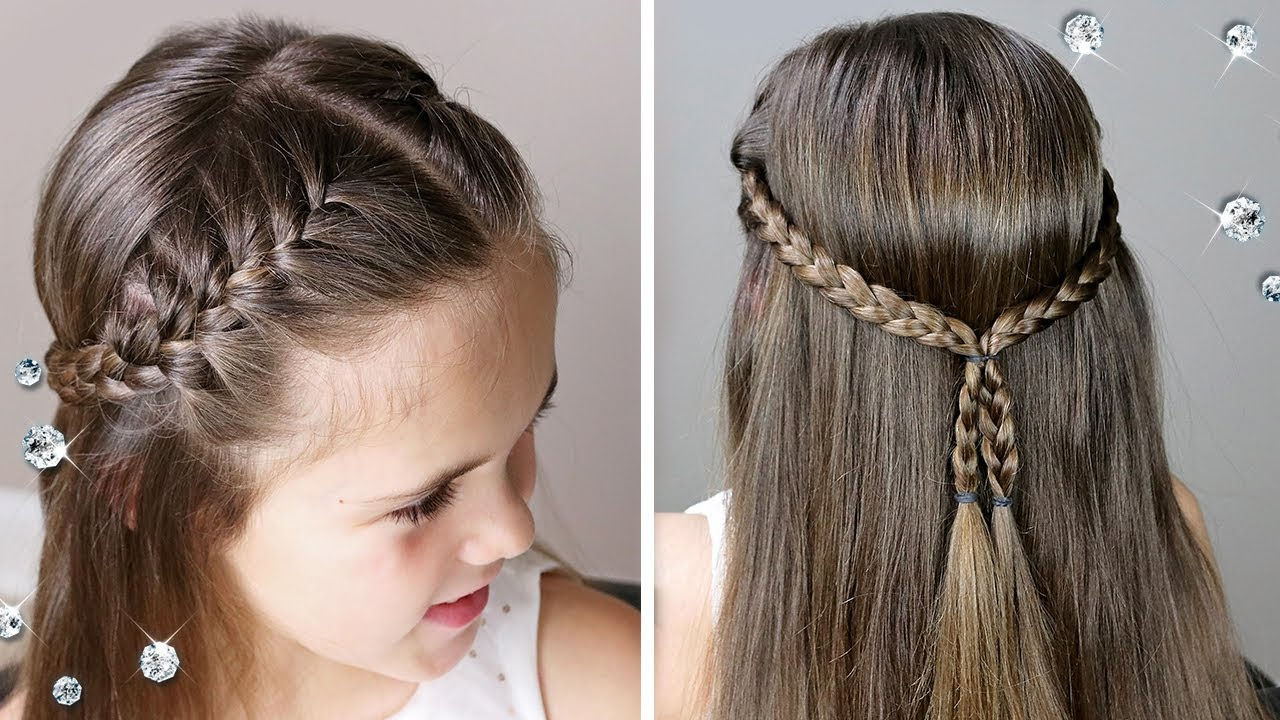 ⭐ little girl hairstyles braids ⭐ easy french braid hairstyle
