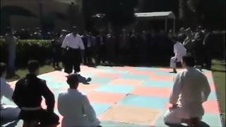 Aikido Iraq - Demo in Baghdad 2015