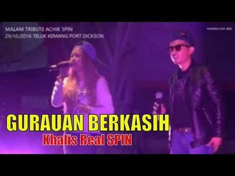 KHALIS REAL SPIN - GURAUAN BERKASIH Konser