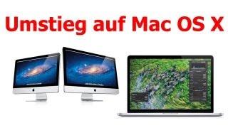 Der Umstieg zu Mac OS X - mein Bericht