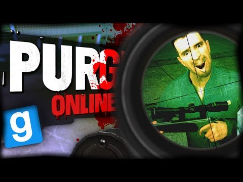 Repeat Purge Online | SHOTGUN SHOOTOUT! (Garry's Mod) by