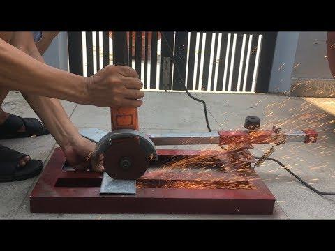 Chế tạo máy cắt bàn từ máy cắt cầm tay