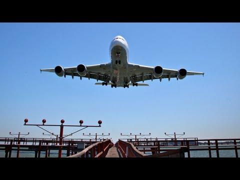 PilotsEYE.tv - A380 Landung KSFO San Francisco - mit Kommentar des Kapitäns