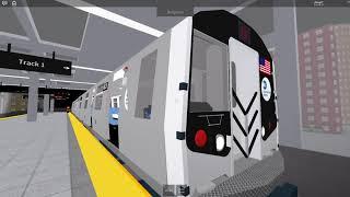 Roblox Subway Testing RARE: R160 (S) in treno