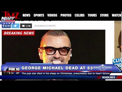 FNN 12-26-16: Memorial Outside George Michael's Home, Russian Plane Crash, Christmas Recap