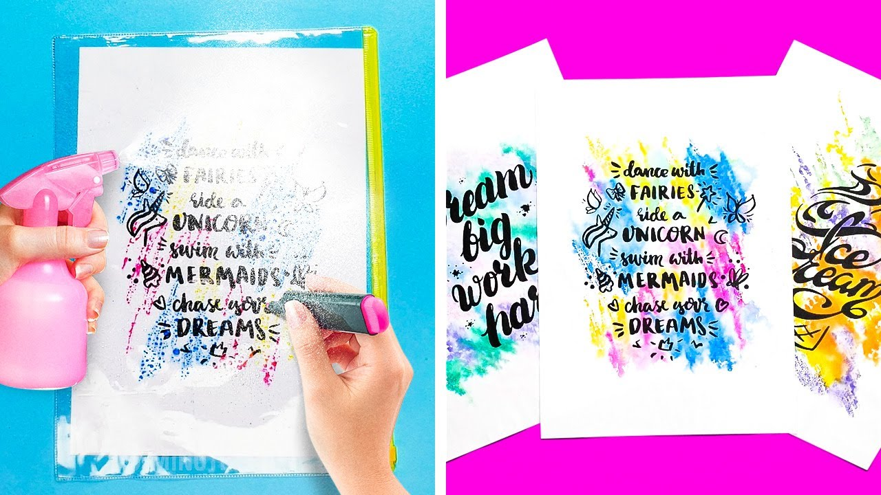 25 BRIGHT MARKER PROJECTS TO TURN YOUR LIFE HAPPY