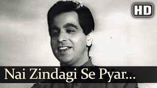 Nai Zindagi Se Pyar | Shikast Songs | Dilip Kumar | Nalini Jaywant | Durga Khote | Filmigaane