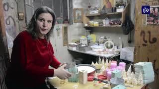 صناعة الشموع .. مصدر رزق لعائلة سورية  - (28/12/2019)