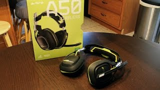2015 Astro A50 WIRELESS Gaming Headset Unboxing/Mini Review (Xbox One, PS4, more!)
