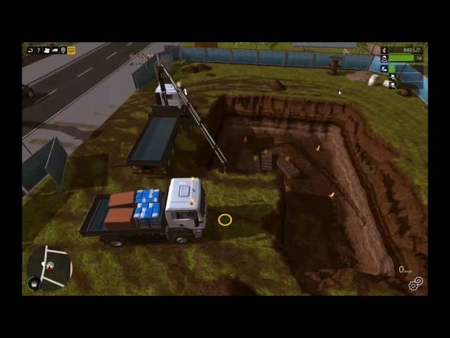 Let's Play Bau-Simulator 2015   Kurzer Bau & Baggern   Folge #027