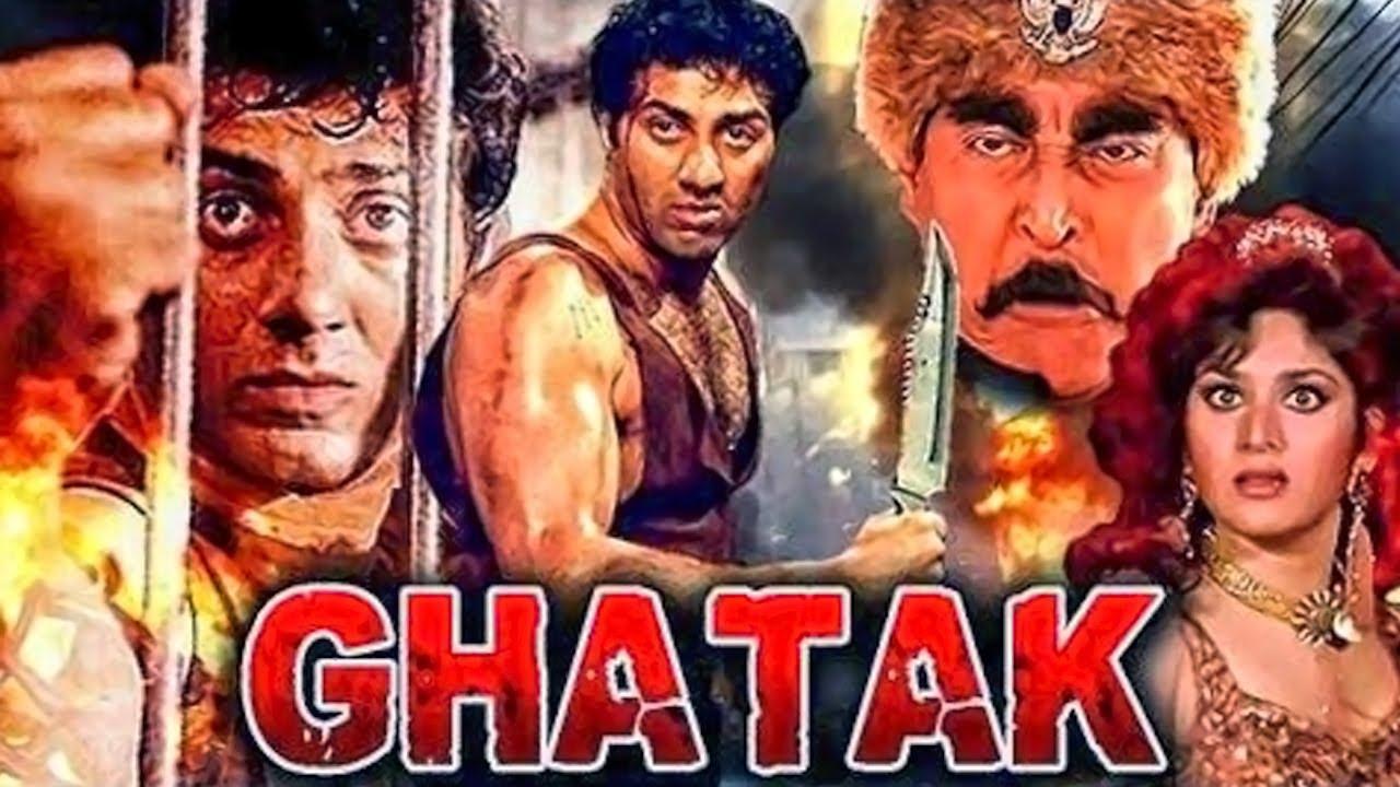 Download Ghatak (1996) Full Hindi Movie | Sunny Deol, Meenakshi Seshadri, Danny Denzongpa, Amrish Puri