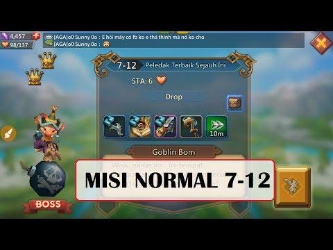 Kombinasi Hero MISI NORMAL 7-12 (Mission NORMAL 7-12) _ LORDS MOBILE