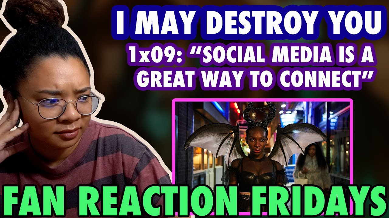 """Download I MAY DESTROY YOU Season 1 Episode 9: """"Social Media is a Great Way to Connect"""" Reaction & Review"""
