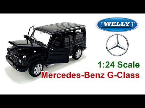 Unboxing - Mercedes-Benz G-Class (Black) Welly Nex - 1:24 Scale Diecast Model Car Toy