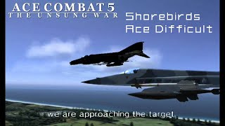 Ace Combat 5: The Unsung War - Ace Difficult Playthrough (60 FPS)