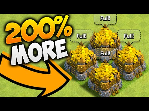 Clash of Clans - EARN 200% MORE LOOT! - Best SECRETS to FARMING!