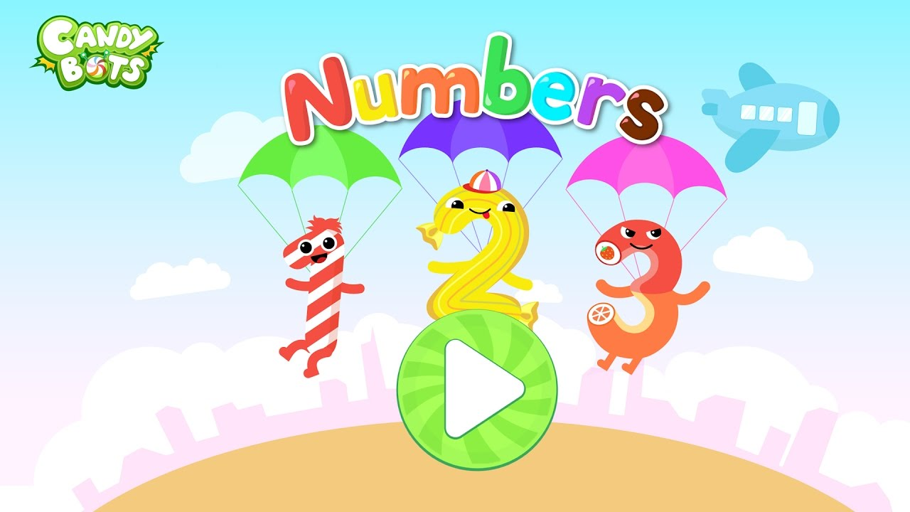 Candy 123 Numbers Trailer Free Game (Candybots) - Learn ...