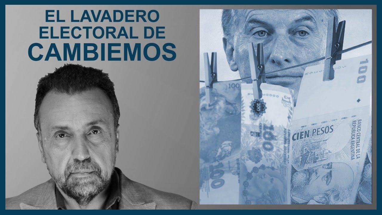 El lavadero electoral de Cambiemos   El Destape con Roberto Navarro EN VIVO