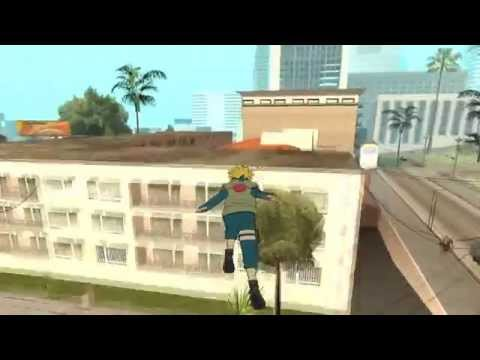 [Hướng dẫn] Mod Minato (Naruto) Gta San