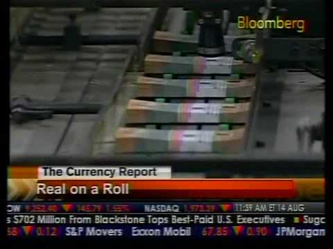 The Currency Report - Brazilian Real - Bloomberg
