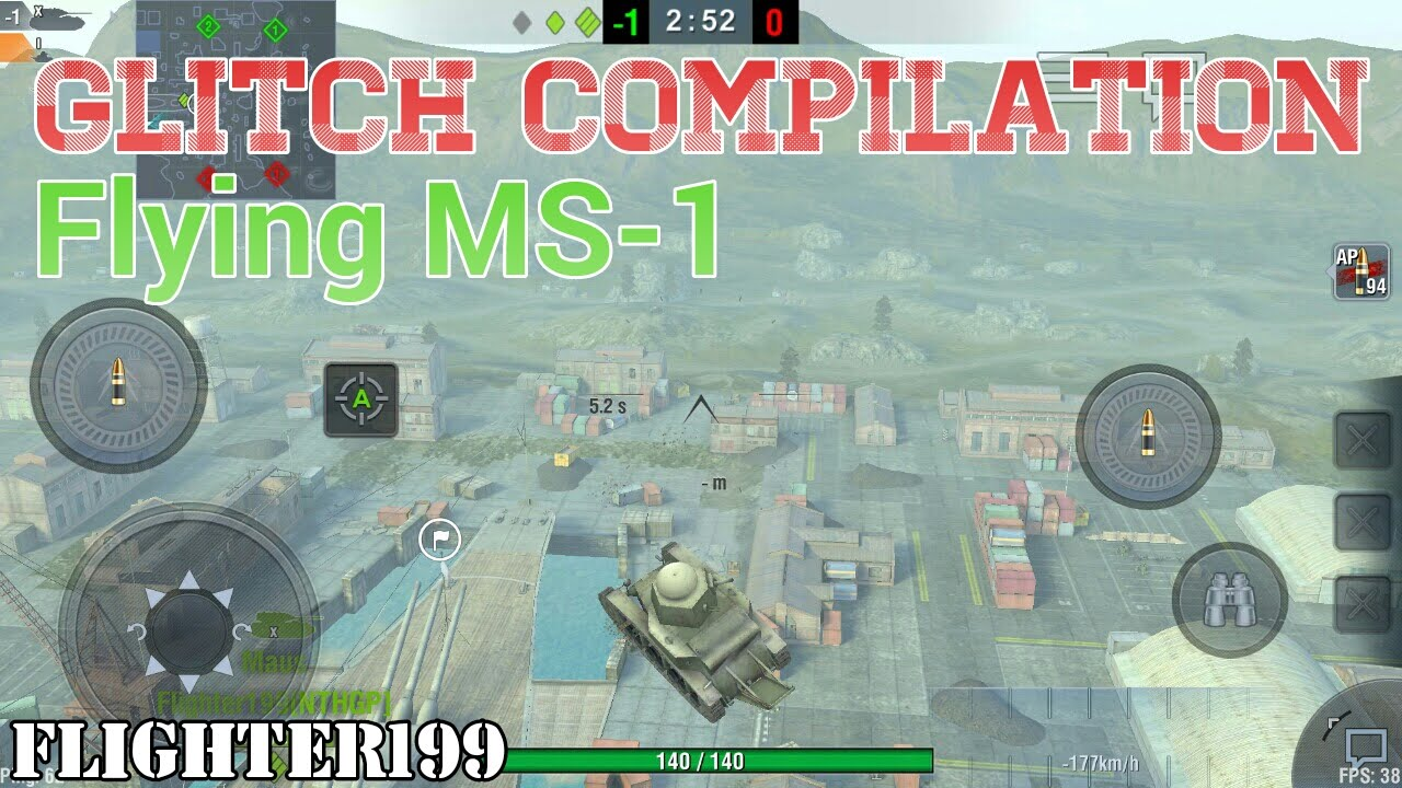 Download WoT Blitz: Glitch, nice places and easter egg compilation | Flying MS-1 | Yamato Harbour